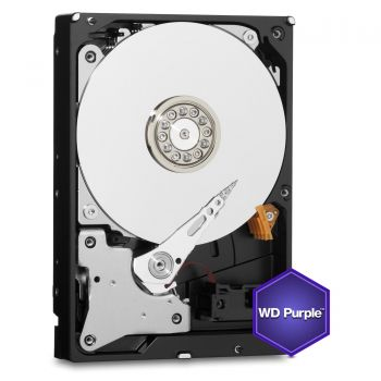 HDD WD Purple 4TB, 64MB, SATA 3